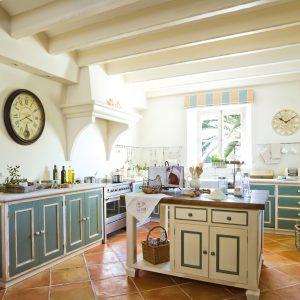 cocina campestre estilo clasico