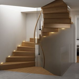 escalera moderna plegable