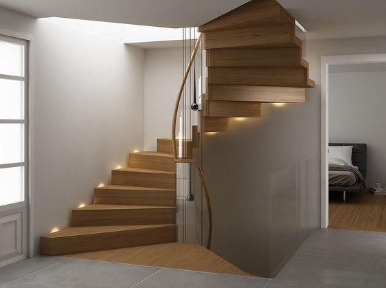 escalera moderna plegable